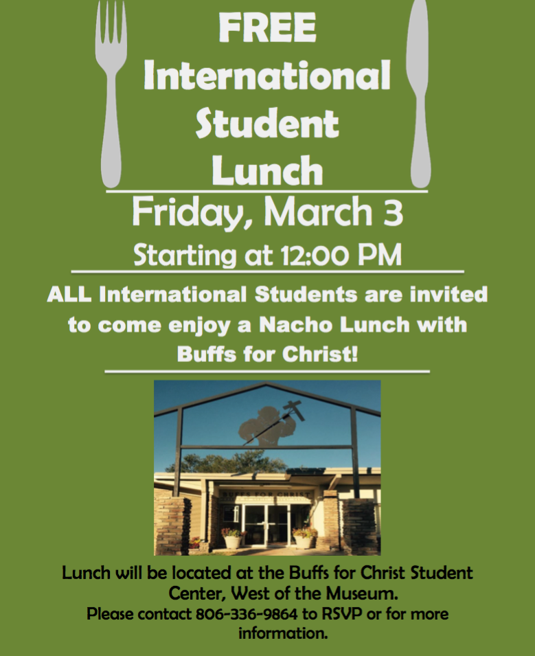 International Student Free Lunch