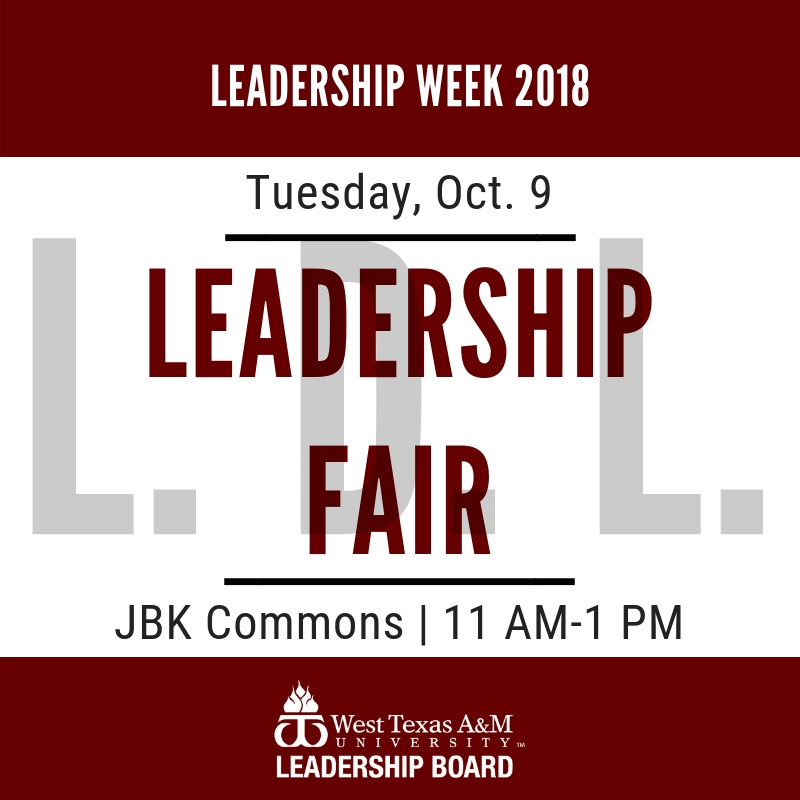 Leadership Week: Leadership Fair