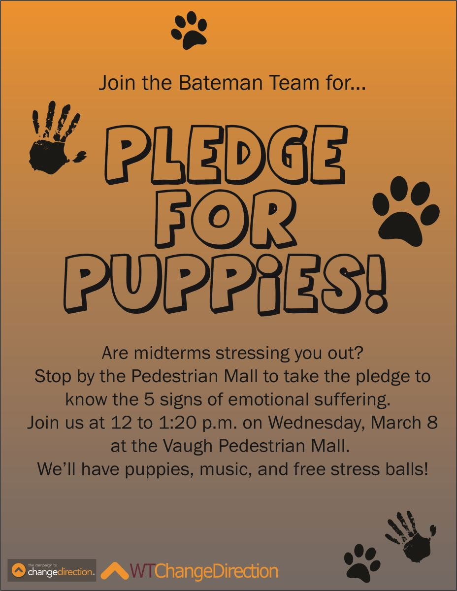 Pledge for Puppies - WT Bateman Team