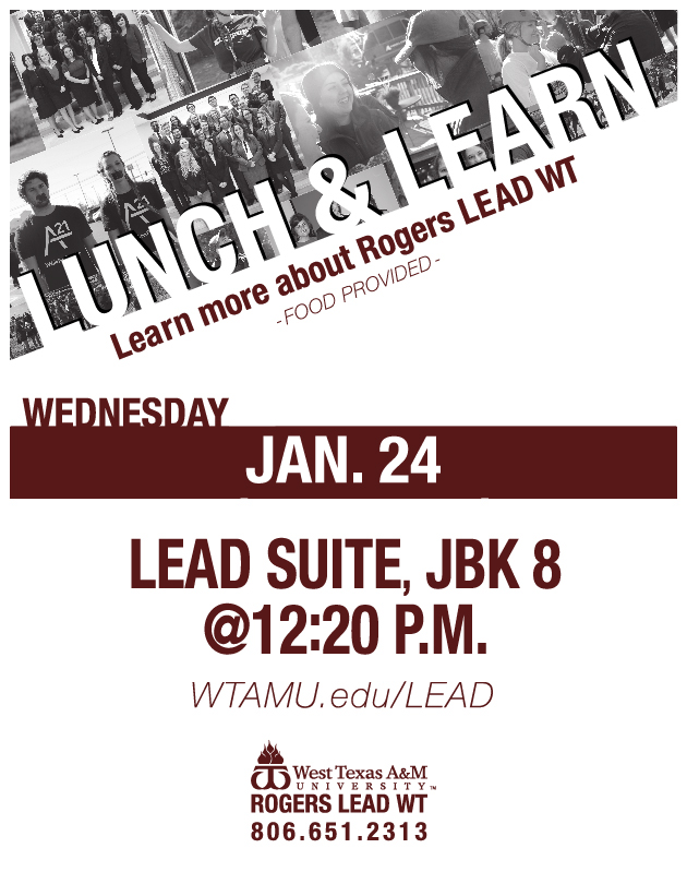 Rodgers Lead Lunch & Learn