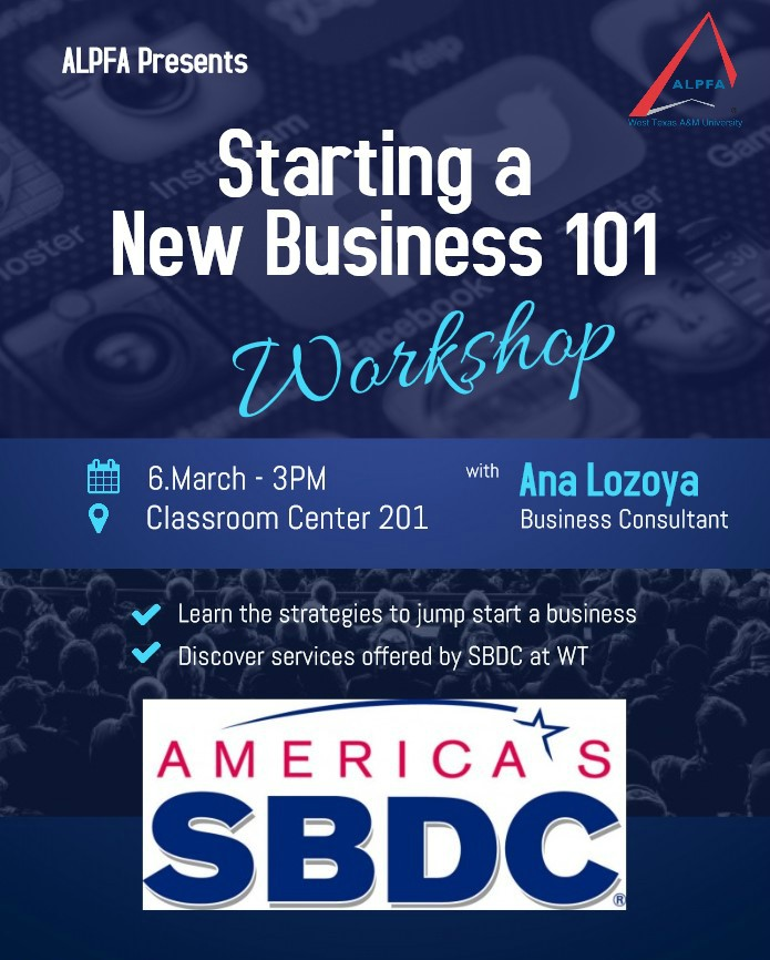 Starting a New Business 101 Workshop