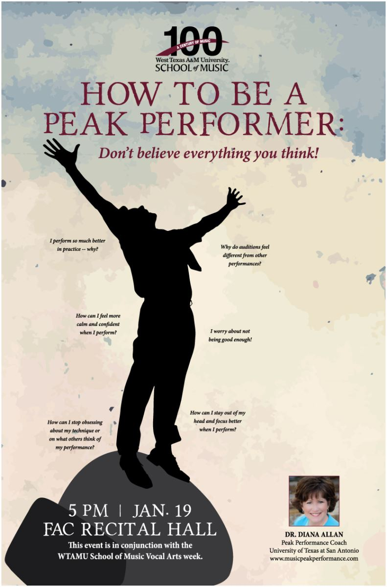 How to be a Peak Performer