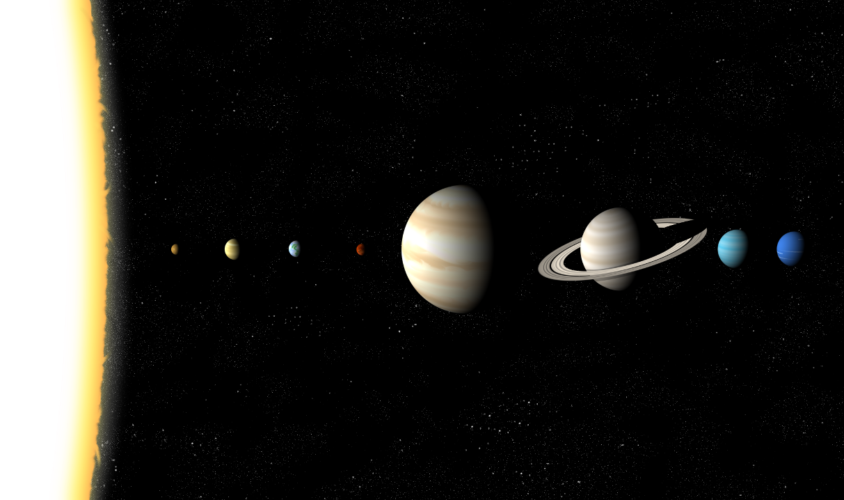 When do the planets in our solar system all line up science perfect planetary alignment the type of planetary alignment shown in this artistic ccuart Images
