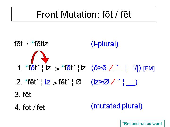 Example Of Front Mutation